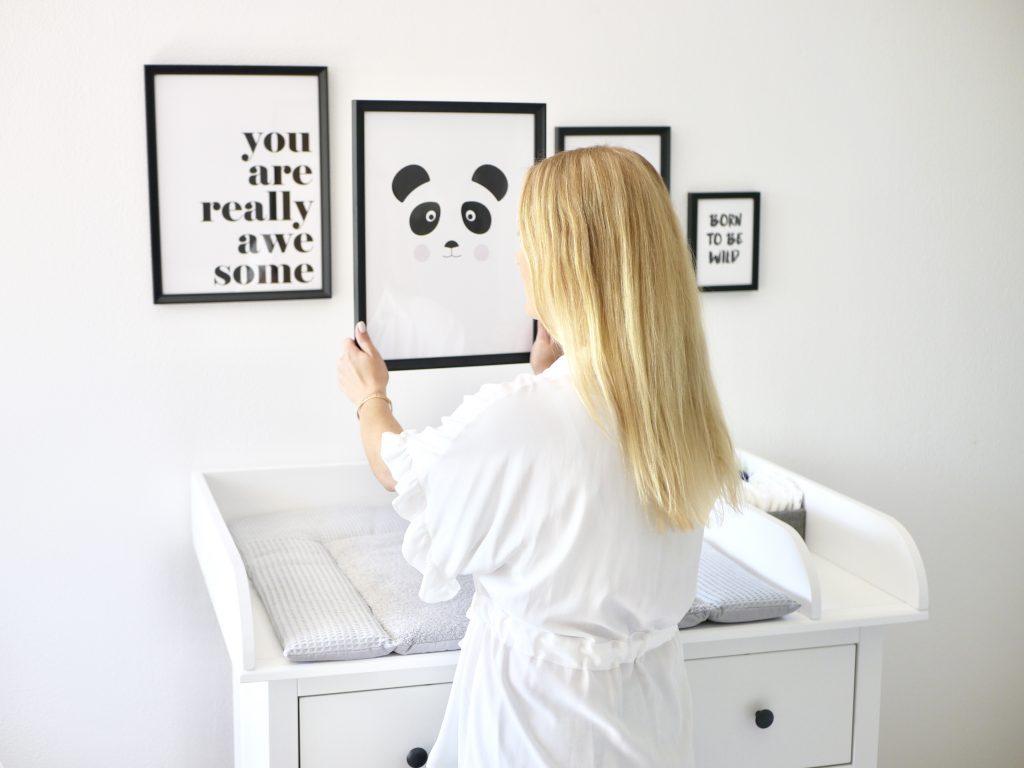 Babyzimmer Wandgestaltung - Desenio - Mommy Blog ...